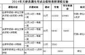 2014年天津选调生考试全程特惠班课程安排