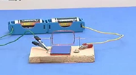 初三物理 实验课堂 26,制作简易电动机