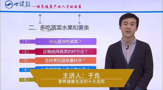 【金牌健康讲师主修课三】解读中国居民膳食指南