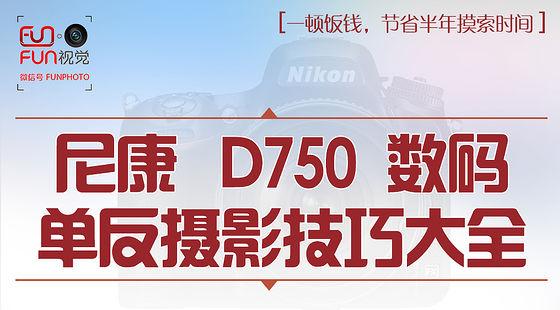 尼康D750数码单反摄影技巧大全
