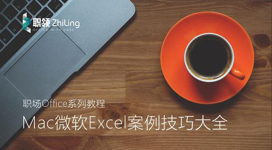 Mac版微軟Excel技巧案例大全(第一季)